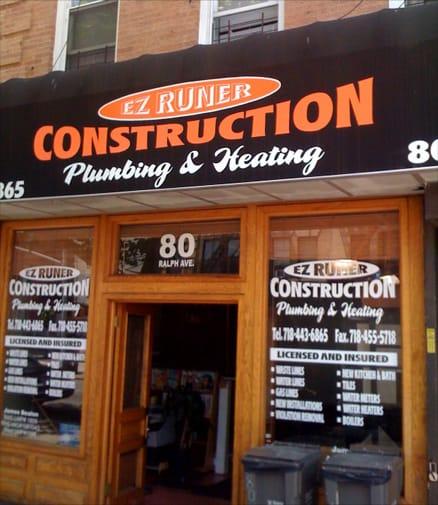 ez runner plumbing & heating